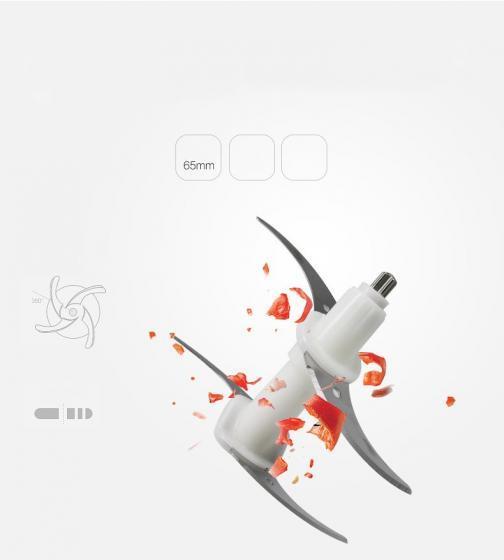 Lưỡi dao kép Inox 304 BCook dành cho máy xay thịt Lock&lock, Elmich