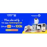 Mua Sắm Mê Ly tại Săn Hàng Rẻ thanh toán VNPAY-QR giảm thêm ngay 10% tối đa tới 100k