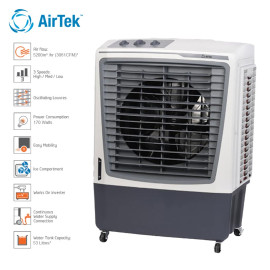 Quạt làm mát bằng hơi nước Airtek AT610PM sản xuất tại Ấn Độ - Hàng chính hãng bảo hành 12 tháng
