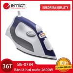 Bàn là hơi nước Elmich SIE-0784 công suất 2600W hàng chính hãng, bảo hành 36 tháng