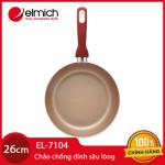 Chảo Chống Dính Sâu Lòng Cao Cấp Đáy Từ Elmich EL7104 đường kính 26cm