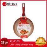 Chảo chống dính sâu lòng cao cấp Elmich EL-7105 đường kính 28cm đáy từ