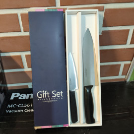 Bộ 2 dao nhà bếp hiệu GGomi Hàn Quốc chất liệu Inox - MK553