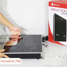 Bếp điện từ âm Elmich Tornado EL-7950 công suất 2200W - Hàng chính hãng, bảo hành 25 tháng