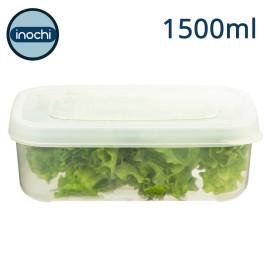 Bộ 3 hộp nhựa đựng thực phẩm chữ nhật cao cấp Inochi Hokkaido 750-1500-2500ml - Hàng Việt Nam xuất Nhật