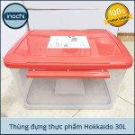 Thùng Đựng Thực Phẩm, Thức Ăn Bằng Nhựa Cao Cấp Hokkaido Inochi 30 Lít - Đạt tiêu chuẩn khắt khe y tế Nhật Bản