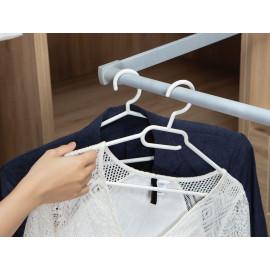 Set 10 móc treo áo chống trượt Inochi Hara 186  hàng xuất Nhật