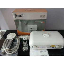 Máy nước nóng trực tiếp FERROLI RITA FS-45TE 4500W chống giật - Hàng chính hãng