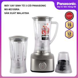 Máy xay sinh tố 3 cối Panasonic MX-M210SRA Malaysia chính hãng, bảo hành 12 tháng