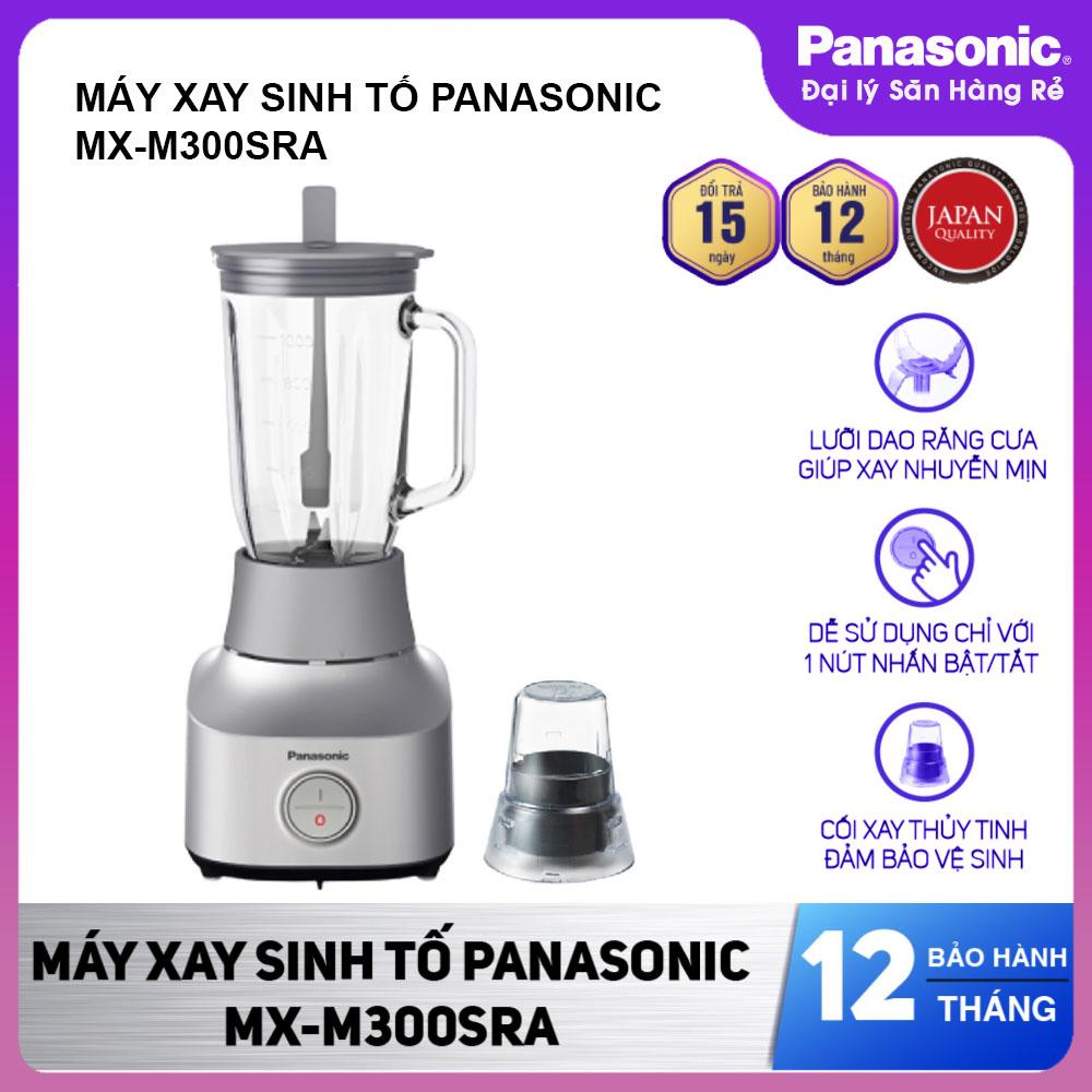Máy xay sinh tố Panasonic MX-M300SRA công suất 450W sản xuất Malaysia - Hàng chính hãng, bảo hành 12 tháng
