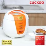 Nồi cơm điện nắp gài Cuckoo CR-0661-O dung tích 1 lít sản xuất Hàn Quốc hàng chính hãng, bảo hành 24 tháng
