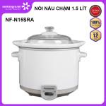 Nồi nấu chậm Panasonic dung tích 1.5 lít NF-N15SRA sản xuất Malaysia - Bảo hành 12 tháng chính hãng