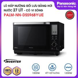 Lò hấp nướng đối lưu có vi sóng đa năng 27 lít Panasonic PALM-NN-DS596BYUE 1200W - Hàng chính hãng, bảo hành 12 tháng