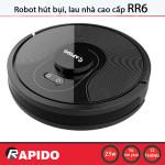 Robot hút bụi và lau nhà thông minh Rapido RR6 Điều khiển bằng tiếng Việt - Hàng chính hãng
