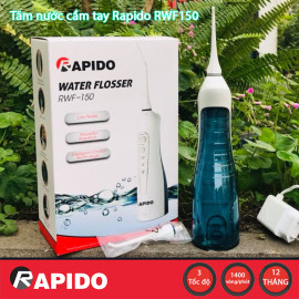 Tăm nước cầm tay Rapido RWF150 hàng chính hãng - Bảo hành 12 tháng