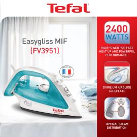 Bàn ủi hơi nước Tefal FV3951 công suất 2400W sản xuất tại Pháp - Hàng chính hãng, bảo hành 24 tháng