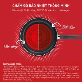 Chảo sâu lòng chống dính Titanium đáy từ 24cm Tefal Day by Day G1436405 - Hàng chính hãng, bảo hành 24 tháng