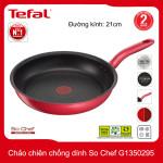 Chảo chiên chống dính đáy từ Tefal So Chef G1350295 đương kính 21cm