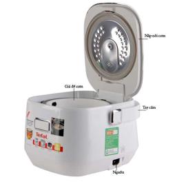 Nồi cơm điện cao tần Tefal RK604165 dung tích 0.7 lít - Hàng chính hãng, bảo hành 24 tháng