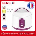 Nồi cơm điện cơ mini 0.7 lít Tefal RK224168 - Hàng chính hãng, bảo hành 24 tháng