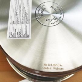 Nồi Inox 304 đường kính 24cm Tefal Simpleo B9054695 bảo hành chính hãng 5 năm, hàng xuất Pháp