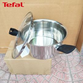Bộ 2 nồi và 1 quánh Inox 304 Tefal Simpleo 18cm/20cm/24cm hàng chính hãng, bảo hành 5 năm