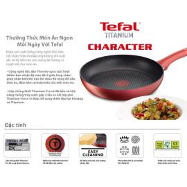 Chảo chống dính đáy từ nhập khẩu Pháp Tefal Character 21cm C6820275 - Hàng chính hãng, bảo hành 2 năm