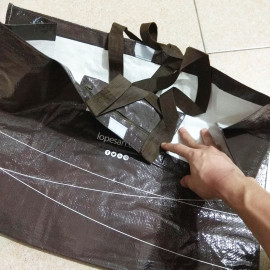 Túi xách đi siêu thị, đi chợ Lopesan thân thiện bảo vệ môi trường 50x20x40cm