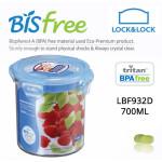 Hộp bảo quản thực phẩm 700ml Lock&Lock Bisfree hình tròn cao - LBF932D