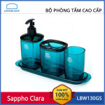 Bộ Phòng Tắm Cao Cấp Lock&Lock Sappho Clara LBW130GSBW (Blue)