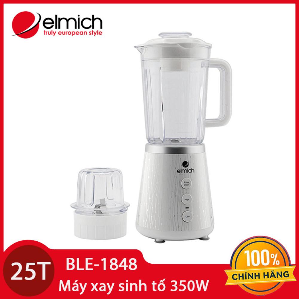 Máy xay sinh tố Elmich BLE-1848 dung tích 1.5 lít 350W - Hàng chính hãng bảo hành 25 tháng