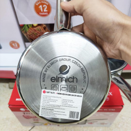 Bộ nồi quánh và chảo chống dính đáy liền Elmich Trimax Baby EL-3794 size 14cm