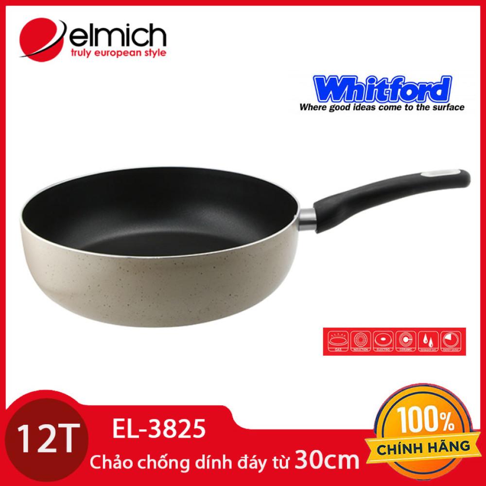 Chảo chống dính thành cao đáy từ Elmich EL-3825 đường kính 30cm - Hàng chính hãng, bảo hành 12 tháng