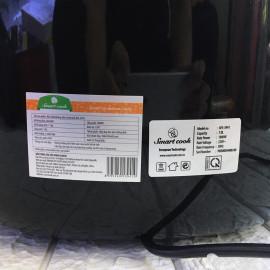 Nồi chiên không dầu 7 lít Elmich Smartcook AFS-3941 công suất 1800W bảo hành 12 tháng (đen)
