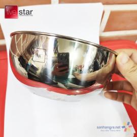 Bát tô canh Inox 304 Fivestar Plus 16cm hàng xuất Nhật