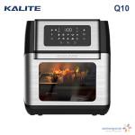 Nồi chiên không dầu điện tử đa tính năng Kalite Q10 dung tích 10 lít hàng chính hãng - Tặng Chổi phết dầu