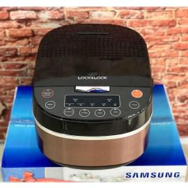 Nồi cơm điện từ 1.5L Lock&Lock EJR316BLK KM Samsung - Bảo hành 12 tháng