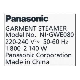 Bàn là hơi nước đứng Panasonic NI-GWE080WRA công suất 2140W hàng chính hãng, bảo hành 12 tháng