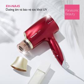 Máy sấy tóc dưỡng ẩm Nanoe Panasonic Thái Lan 1600W EH-NA45RP645 - Hàng chính hãng, bảo hành 12 tháng