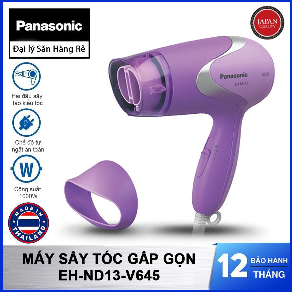 Máy sấy tóc gấp gọn Panasonic Thái Lan EH-ND13-V645 - Hàng chính hãng bảo hành 12 tháng