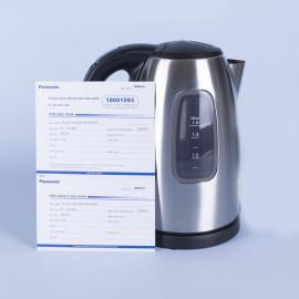 Ấm điện đun nước siêu tốc Panasonic NC-SK1BRA dung tích 1.6 lít - Hàng chính hãng, bảo hành 12 tháng