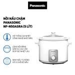 Nồi nấu chậm Panasonic dung tích 5 Lít NF-N50ASRA sản xuất Malaysia - Bảo Hành 12 Tháng