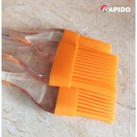 Chổi phết dầu Silicon cán nhựa trong Rapido 22,5x4,7cm