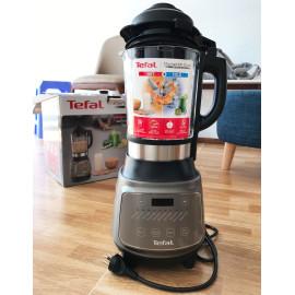 Máy xay nấu làm sữa hạt 10 chương trình tự động Tefal Dynamix Cook BL967B66 1300W - Hàng chính hãng, bảo hành 2 năm