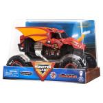 Xe tải mô hỉnh Monster Jam True Metal tỷ lệ 1:24 - Chiến xe Rồng đỏ Bakugan Dragonoid