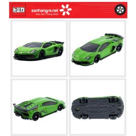 Siêu xe ô tô mô hình Tomica Lamborghini Aventador SVJ xanh lá (No Box)