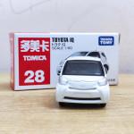 Xe ô tô mô hình Tomica Toyota IQ trắng No.28 (Full hộp)