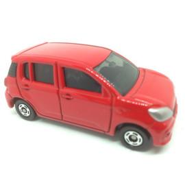 Xe ô tô mô hình Tomica Toyota Passo màu đỏ (No Box)