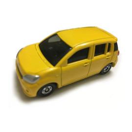 Xe ô tô mô hình Tomica Toyota Passo màu vàng (No Box)