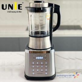 Máy xay nấu làm sữa hạt đa năng Unie V8S 1800W dung tích 1.75L - Thông báo bằng giọng nói